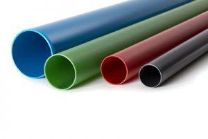 Kabelschutzrohre aus PVC-U mit glatten Enden